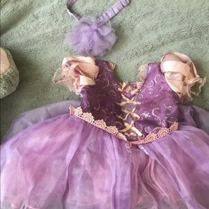Disney Rapunzel Dress with head band